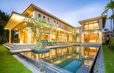 Green Villa In The Ocean Estates For Rent In Da Nang